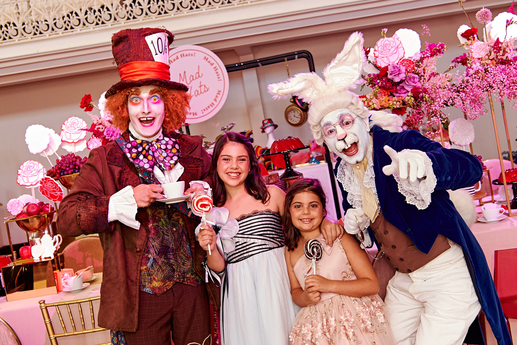 event planning Alice in Wonderland themed events. The secret to an immersive and memorable event.